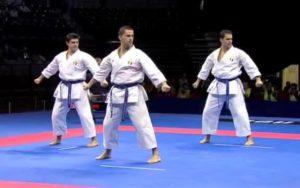 Italia vs Japón, Campeonato Mundial de Karate Belgrado 2010