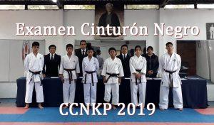 Alumnos aprobarón el examen para la obtencion del Cinturon Negro de Karate - CCNKP