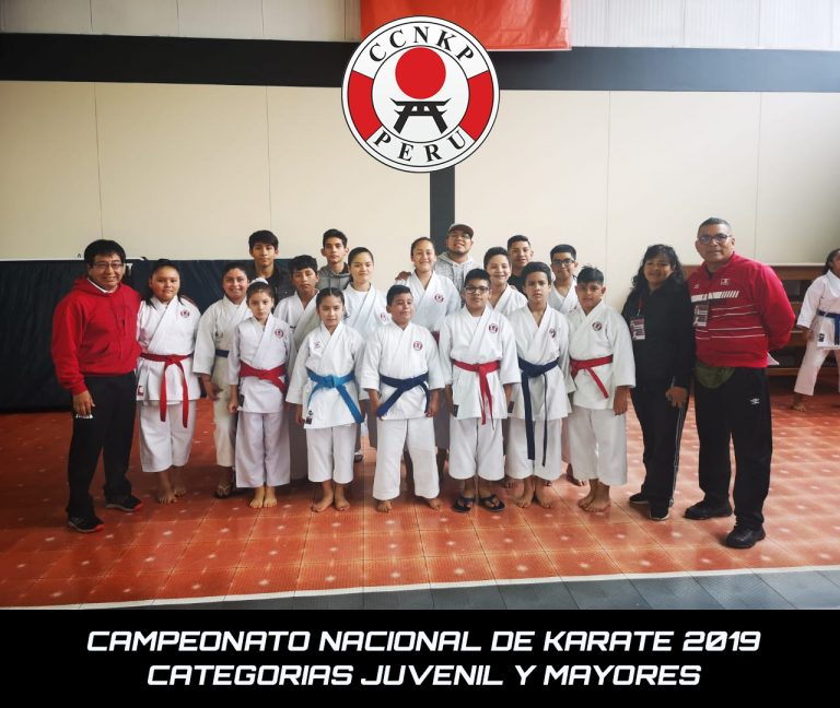 Campeonato Nacional de Karate - Categorias Juvenil y Mayores