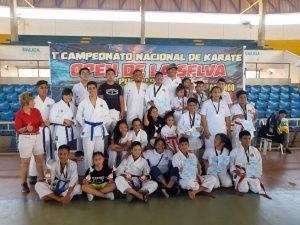 Nuestros Campeones en el Campeonato Open de la Selva Pucallpa