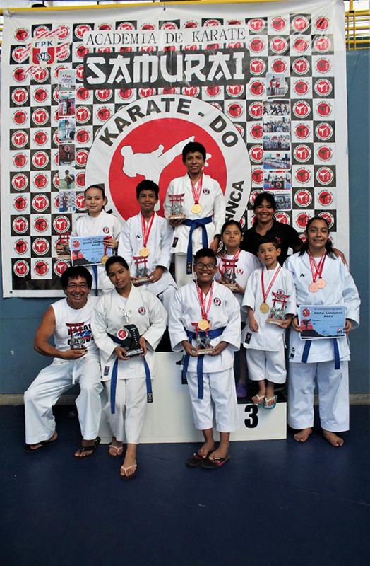 Campeones Campeonato Nacional Samurai - Barranca